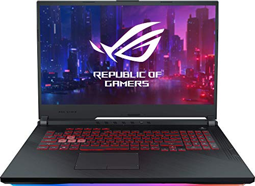 "ASUS ROG Strix G731GT-AU006T - Portátil Gaming de 17.3"" FHD (Intel Core i7-9750H,  16 GB RAM,  256 GB SSD + 1 TB HDD,  NVIDIA GeForce GTX1650,  Windows 10 Home) Metal Negro - Teclado QWERTY Español"