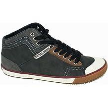 dbe3fbe7 Amazon.es: diesel zapatillas hombre - Gris