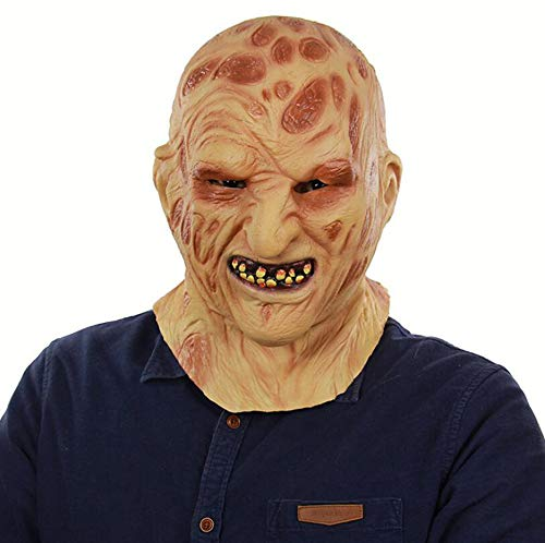 Neuheit Horner Kostüm - Halloween Neuheit Maske Kostüm Party Latex Zombie Horror Maske