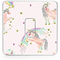 Unicorn Light Switch Sticker | Unicorn Vinyl Lightswitch sticker | Unicorn Girls Room Decor and wall decor sticker for your lightswitch | Perfect for your Unicorn bedroom or girls bedroom