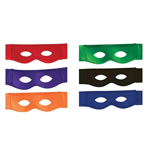 KarnevalsTeufel Superheldenmaske, Augenmaske, Domino Superhero, Maske, (grün)