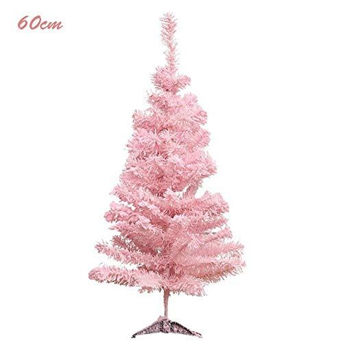Bouncevi Christmas Tree Pink Weihnachtsbaumschmuck Lovely Flocking Tree Weihnachtsschmuck Pink Cedar Tree