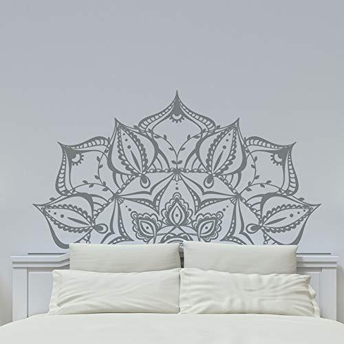 Mandala Sicherheitsmaterial Kunst Wandtattoo Lotus Böhmischen Stil Abnehmbare Dekor Schlafzimmer Wohnkultur Haus Und Garten Wandaufkleber H619 Grün 42x76 cm -