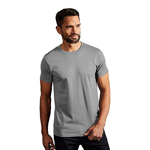 Premium T-Shirt Plus Size Herren, 4XL, Grau