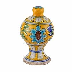 Multicolor blue Pottery Agarbatti Stand
