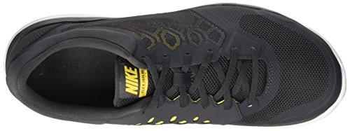 Nike Herren Flex 2015 Run Laufschuhe Grau (Anthracite/Black/Varsity Maize/Optic Yellow)