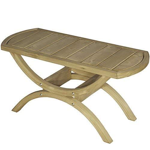 AMAZONAS Tavolino Tisch aus FSC Fichtenholz 86 x 42 x 36 cm