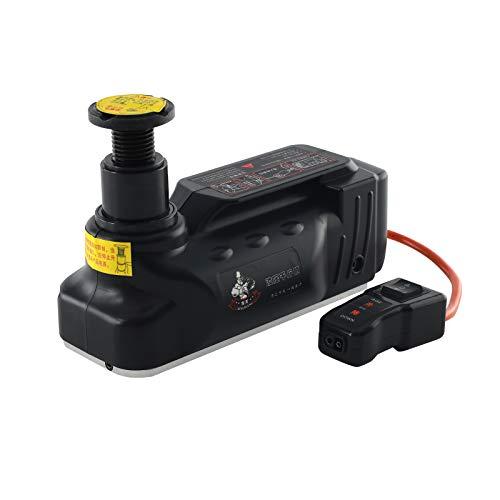 GOTOTOP 5T Cric hydraulique /électrique avec /éclairage 12 V et compresseur dair hydraulique 3 Fonctions et Zone de Levage 13,5 cm /à 36 cm