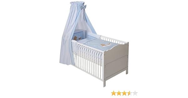 Easy baby 400 81 bettset sleeping bear blau: amazon.de: baby