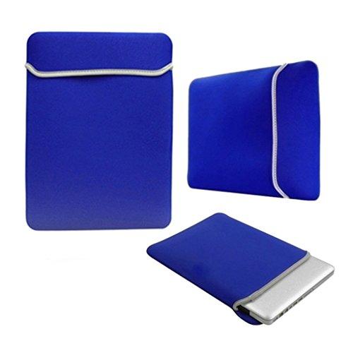 StyleBitz/blau/Laptoptasche Neopren 13,3 Zoll, 13 Zoll/Hülle/Tasche für Panasonic Toughbook CF - 29 5 Stück Renigungstuch StyleBitz