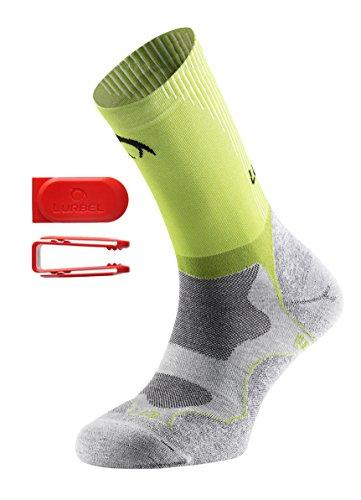 Lurbel Gravity–Socken, Unisex, Grau–(grau Eis/pistazie) 39-42