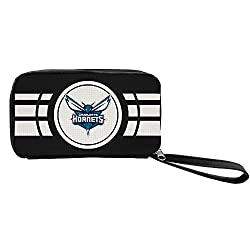 NBA Charlotte Hornets Ripple Zip Wallet