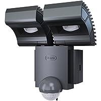 Osram 73135 Noxlite Spot - Foco LED para exterior, con sensor de movimiento y claridad (2 bombillas, 8 W)