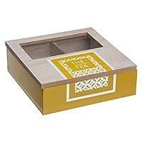 Secret de Gourmet - Boîte à thé scandinave 4 compartiments