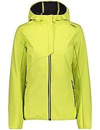 Camping & Outdoor CMP Funktionsjacke Jacke Woman Fix Hood Jacket grau winddicht wasserabweisend