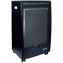 HJM EG-2800 Negro 2800W - Calefactor (Piso, Negro, 2800 W,
