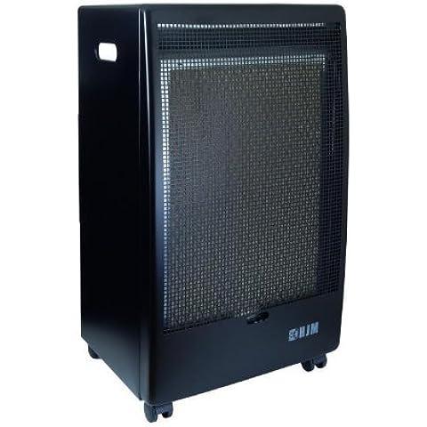 HJM EG-2800 calentador de ambiente - Calefactor (430 mm, 720 mm, 11500 g, 375 mm) Negro