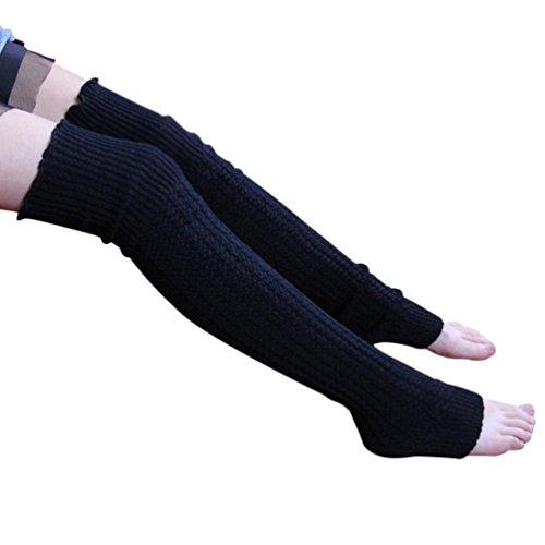 amlaiworld-avvio-polsini-scaldino-calze-di-cashmere-gamba-per-donna-ragazza-azzurro-cielo-nero