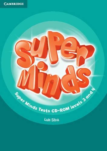 Super Minds Levels 3 and 4 Tests CD-ROM - 9781107429635