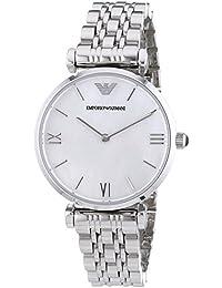 Emporio Armani Damen-Armbanduhr XS Analog Quarz Edelstahl AR1682