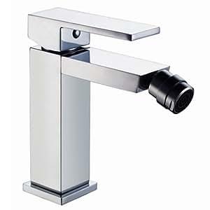 Msc2112 miscelatore rubinetto squadrato da bidet bagno linee minimal semplice ed economico - Miscelatore cucina economico ...