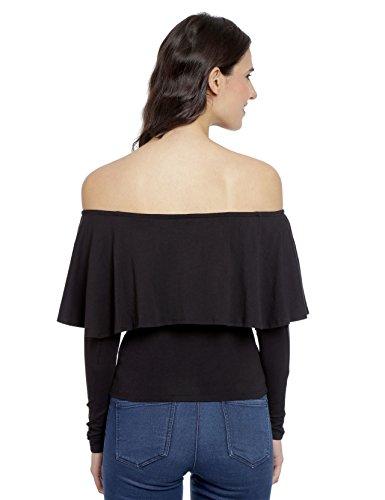 Love Genration off shoulder top black S