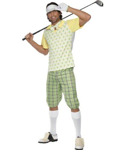 Karneval Herren Kostüm Golf Spieler Sportler Golfer Größe (Für Kostüm Herren Golf)