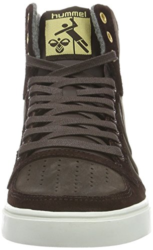 Hummel Slimmer Stadil Mono Oiled High, Sneakers Hautes Mixte Adulte Marron (Coffee Bean)