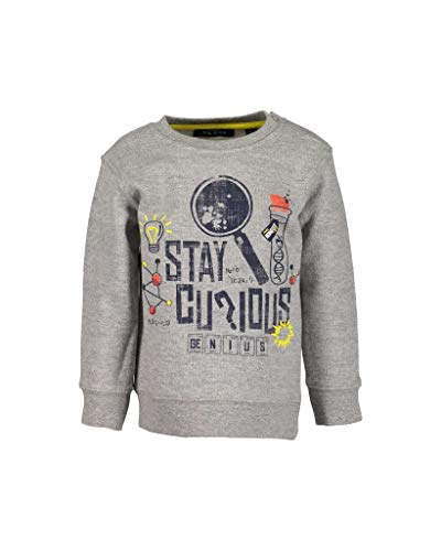 Blue Seven Baby-Jungen Vd-984035 X Sweatshirt, Grau (Rauch 940), 86