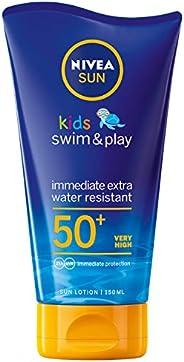NIVEA, Sun Lotion, Kids Swim & Play, SPF 50+, 1
