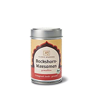Classic Ayurveda – Bio Bockshornklee-Samen, gemahlen, 1er Pack (1 x 50g) – BIO
