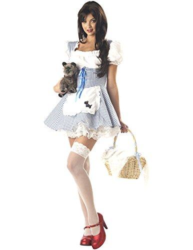 Sexy Oz Von Zauberer (Sexy Schätzchen Dorothy Zauberer von Oz Kostüm Karneval Verkleidung)