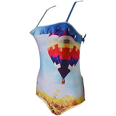 Da Wu Jia Ms. lusso intimo sexy increspato cinturino monopezzo Halter costume da bagno , S