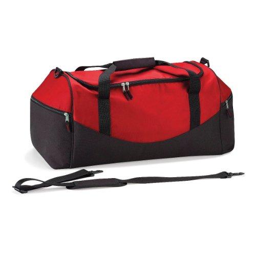 Quadra - Teamwear Holdall Red/Black