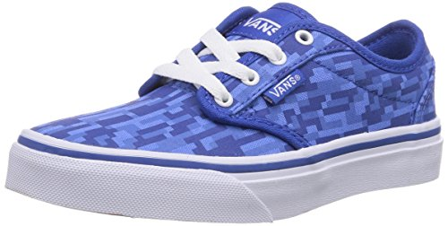 Vans Y Atwood, Baskets mode mixte enfant Bleu (Digi Earth/Water)