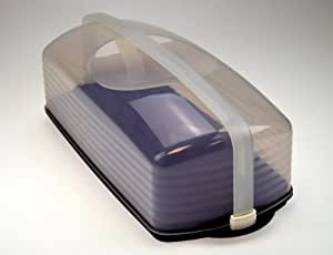 Tupperware© - Boite de conservation transparente pour gâteau - violet