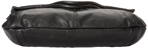 Foley + Corinna Iron Horse Mid City Femmes Cuir Sac shopping Black