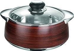 Nayasa Thermoware casserole - Glimmer - 2000 wooden