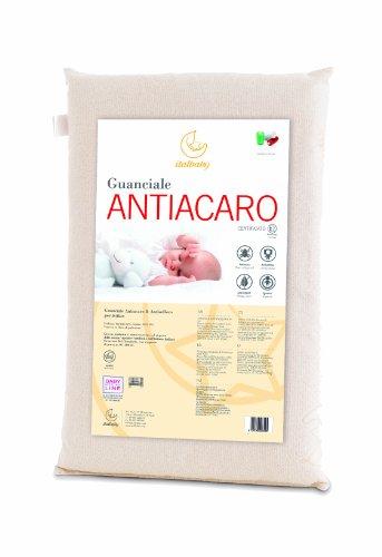Italbaby 020.3100 Guanciale Lettino Antiacaro, 38X58 cm, Beige