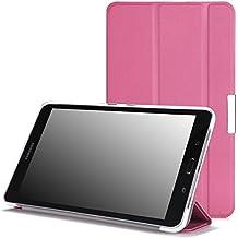 Moko Samsung Galaxy Tab PRO 8.4 Funda - Ultra Slim Ligera Smart-shell Funda para Samsung Galaxy Tab PRO 8.4 (SM-T320N) Android Tableta, ROSA (Con Cierre Magnético Para Reposo Automático)