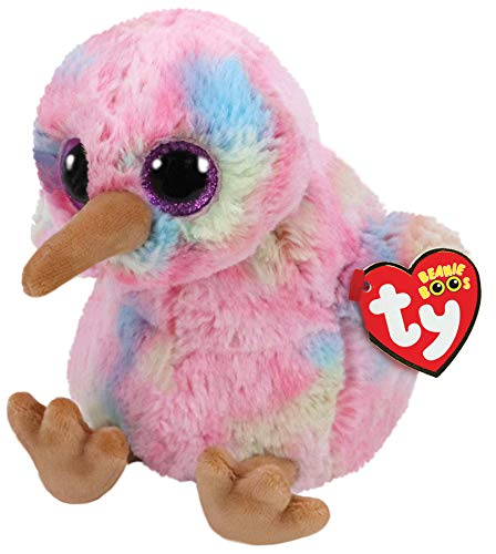 TY 36213 Kiwi bunt 15cm Beanie Boo's, Mehrfarbig