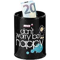 Preisvergleich für Nici, Spardose, Schaf, Jolly, Don't worry - be happy, 10 cm, schwarz