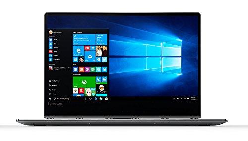 Lenovo Yoga 910 35,3 cm (13,9 Zoll Ultra HD IPS Multi-Touch) Slim Convertible Notebook (Intel Core i7-7500U, 16GB RAM, 1 TB SSD, Intel HD Grafik 620, Windows 10 Home) Silber