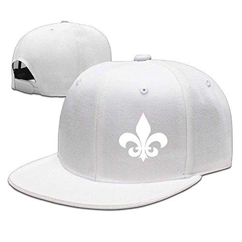 fboylovefor Adjustable Baseball Hat Caps Unisex/Men/Women - Fleur De Lis Fleur Rim