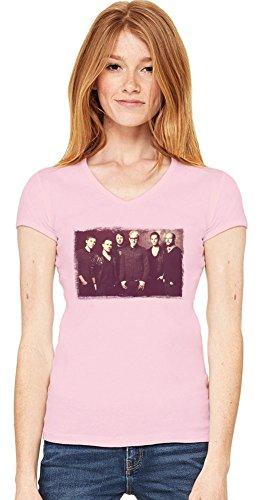 the Blackout Damen V-Ausschnitt T-Shirt XX-Large -