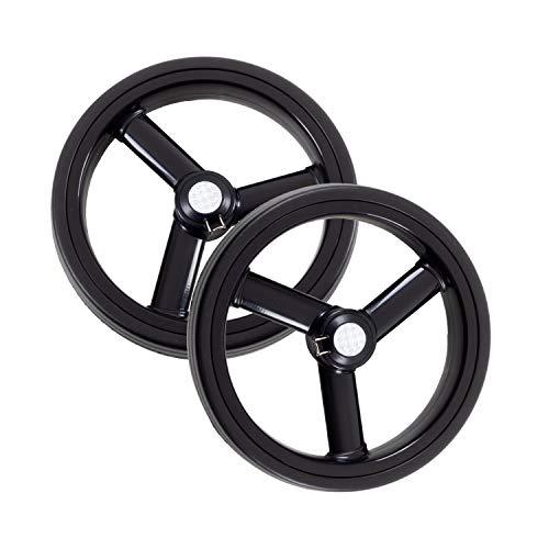 Andersen Ersatzrad-Set für Royal Einkaufstrolley, Ø 250 mm, 3 Speichen, schwarz