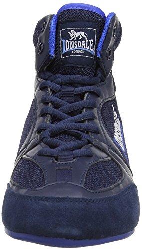 LONSDALE Chaussure de boxe Widmark pour Homme Bleu - Bleu marine/bleu