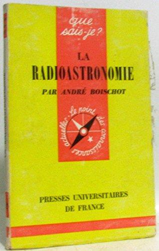 La radioastronomie par Boischot