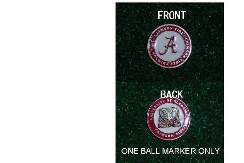 alabama-university-golf-double-sided-ball-single-marker-only-by-team-golf