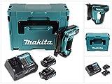 Makita PT 354 DSAJ 10,8 V Akku Stiftnagler im Makpac + 2 x 2,0 Ah Akku + Ladegerät